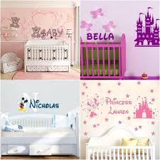 stickers pour chambre bébé fille stickers pour chambre de bebe sticker mural pour chambre bebe