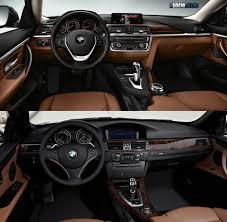 2013 Bmw 328i Interior Bmw 4 Series Coupe Vs E92 3 Series Coupe Photo Comparison