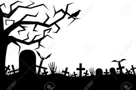 halloween graveyard background graveyard silhouette png clipart free graveyard silhouette png