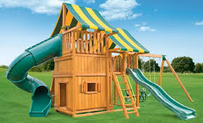 Backyard Playground Slides by Sky Backyards Playground C Best In Backyards