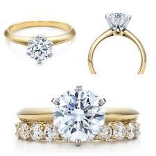 Wedding Rings Diamond by Best 25 Single Diamond Engagement Rings Ideas On Pinterest Gold