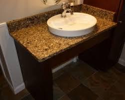 Handicap Bathroom Vanity Bathroom Wheelchair Accessible Vanity For Handicap Houzz