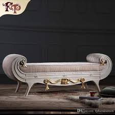 versailles bed end bench french classic furniture european classic
