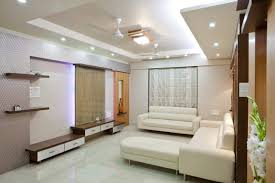 Long Narrow Living Room Ideas by White Color Scheme And Nice Ceiling Lighting For Long Narrow