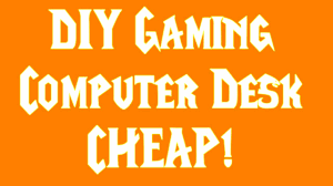 Gaming Computer Desk Diy Ghetto Gaming Computer Desk 37 00 Lowes Great For Streaming