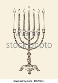 vintage menorah hanukkah celebration with vintage menorah tallit