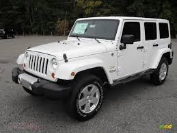 jeep sahara black 2012 jeep wrangler unlimited sahara 4x4 in bright white 141863