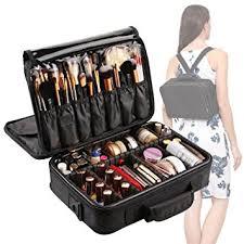traveling makeup artist vasker 3 layers waterproof makeup bag travel cosmetic