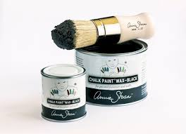 Painting Black Furniture White by Annie Sloan Launches New Black U0026 White Wax Ecochic