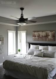 Gray Master Bedroom by A Grey And Cream Master Bedroom Design With Diy Pillow Covers