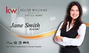 Keller Williams Business Cards Williams Real Estate Broker Business Card Design 103161