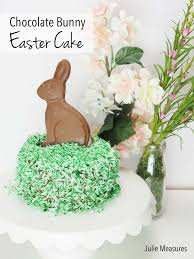 personalized easter bunny personalized easter hunt puzzle and chocolate easter bunny cake