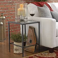 Square Side Tables Living Room Birch Harlan Square Side Table Reviews Wayfair