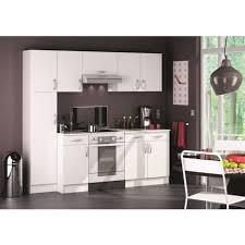 auchan meuble cuisine meuble de cuisine bas sous évier 2 portes perle l100 cm pas cher à