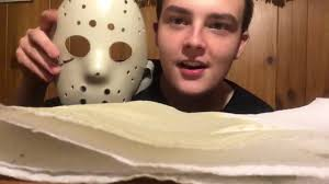 making a friday the 13th jason halloween mask youtube