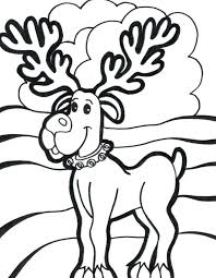 coloring wilma rudolph reindeer adorned pages free