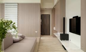 Streamlined Studio Small Living Super Streamlined Studio Apartment