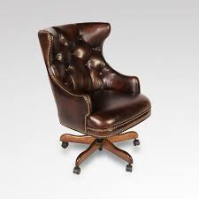 Leather Office Desk Chair Charming Classic Desk Chairs With Sofa Design Classic Leather