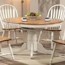 White And Oak Dining Table White Oak Dining Chairs Visualnode Info