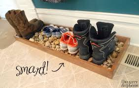 Shoe Home Decor Drip Tray For Muddy Or Shoes Reality Daydream