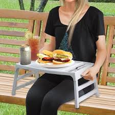 lap tables for eating amazon com convertible foldable lap table tray multiple use food