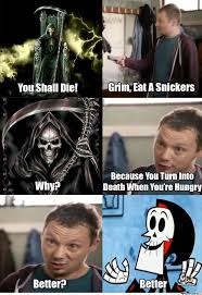 Eat A Snickers Meme - eat a snickers by corthonyax meme center