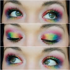 agape love designs rainbow eyes clown doll look