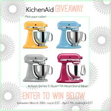 Kitchen Aid Colors by Kitchen Aid Giveaway High Heels And Grills