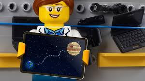 Explore space with lego nasa