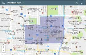 Downtown Phoenix Map by Where To Stay In Kyoto Our Favourite Areas U0026 Hotels Nerd Nomads
