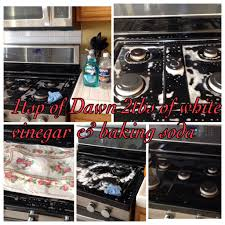 how to clean kitchen cabinets without leaving streaks how to clean black range stove top mix 1tsp of and 2