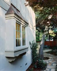 Decorative Windows For Houses Designs Box Bay Window Decorative Pieces Under Copper On Top For The