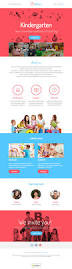 Free Email Responsive Templates by Kindergarten Newsletter Template For Kids And Parents Responsive