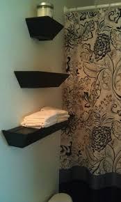 White Shelves For Bathroom - floating white bathroom shelves smart design ideas glass corner