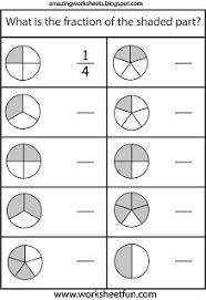 introduction to fractions worksheets introduction to fractions