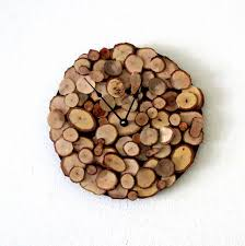 Wood Wall Decor Target by Rustic Home Decor Wooden Wall Clock Wood Handmade Clocks Loversiq