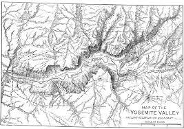 Yosemite Valley Map The Treasures Of The Yosemite By John Muir The Century Magazine