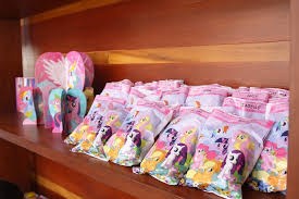 my pony birthday ideas kara s party ideas favor sacks from a my pony birthday