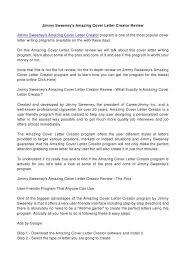 cover letter maker cv cover letter creator cover letter maker resume maker jobsxs