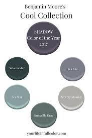 2017 Color Palette by Benjamin Moore U0027s Color Of The Year 2017 Laura Brzegowy