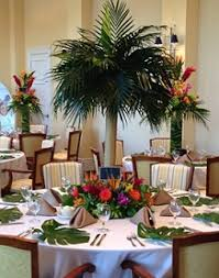 tree centerpieces palm tree centerpiece in stuart fl harbour bay florist