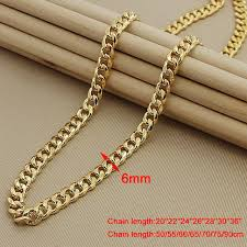wholesale chain necklace images 24k gold men cuban chain necklaces hip hop jewelry wholesale gold jpg