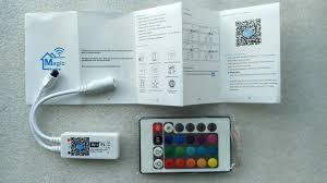 wifi ir wireless ios android rgb rgbw led controller