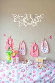 travel themed baby shower 4 travel themed disney baby shower ideas our days