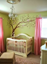 Nursery Girl Curtains by Bedroom Gorgeous Impressive Green And Pink Nursery Best
