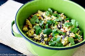 warm black bean corn pasta salad vegetarian mamma