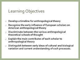 Define Armchair Anthropology Theory In Anthropology Learning Objectives 1 Develop A Timeline