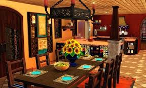 mexican themed home decor mexican dining room style living rooms living room decor