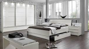Schlafzimmer Bett Mit Led Nachttisch Mit Schubladen Und Led Beleuchtung Salford