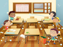 classroom cartoon stock photos u0026 pictures royalty free classroom